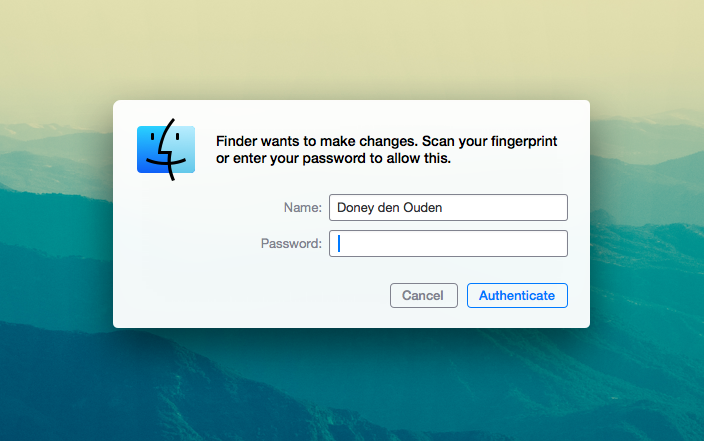OS X Finder, by @Dexwell_. All credit goes to him. I did not make this image, nor do I own rights to it.
